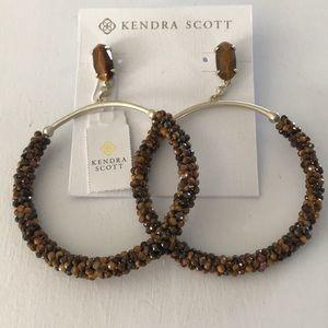 Kendra Scott Russell Gold Hoop Earrings